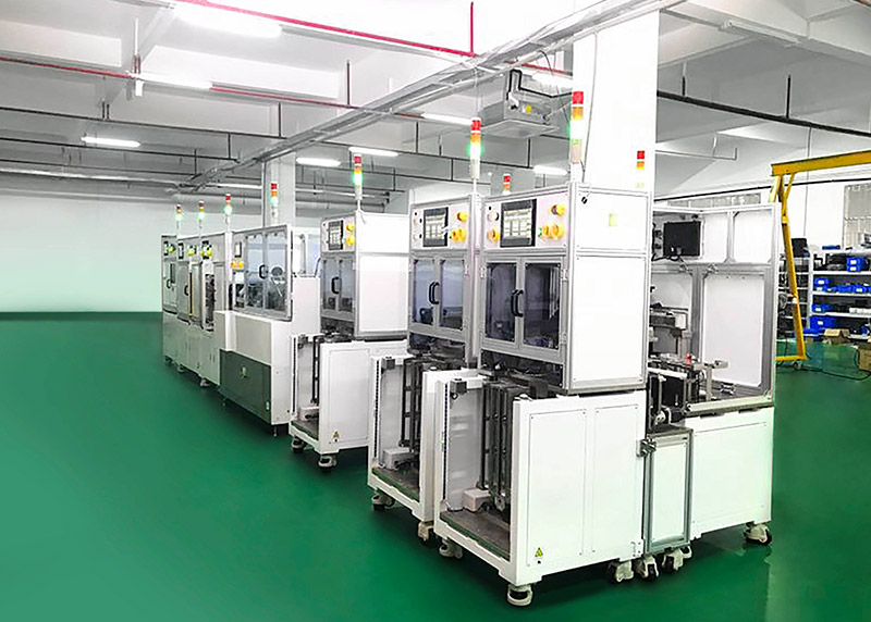 SSD auto packing line